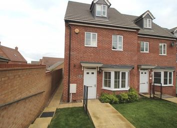 Thumbnail 4 bed town house to rent in Sudbury Road, Grantham