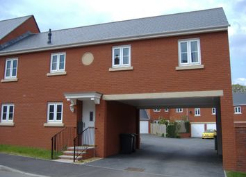 Thumbnail 2 bed town house to rent in Buckingham Road, Exeter