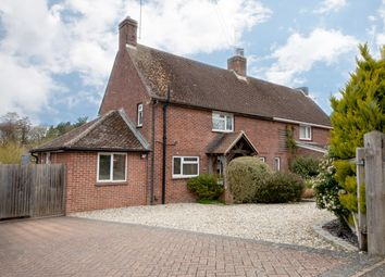 Thumbnail 3 bed semi-detached house for sale in Nodmore, Chaddleworth, Newbury