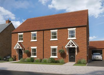 "Thumbnail 4 bed semi-detached house for sale in ""Irving"" at The Leyes, Deddington, Banbury"