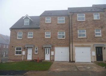Thumbnail 4 bed town house to rent in Carlisle Close, Oakley Vale, Northants, Corby