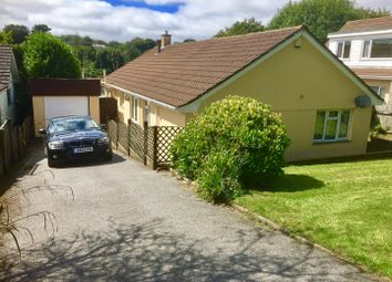 Thumbnail 4 bed detached bungalow for sale in Sparnon Close, Redruth