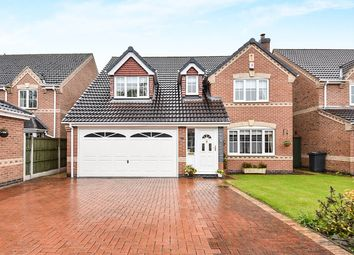Thumbnail 5 bed detached house for sale in Whistlestop Close, Mickleover, Derby