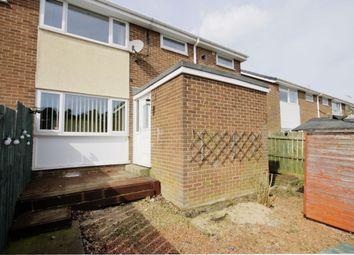 Thumbnail 3 bed terraced house for sale in Woodside Drive, Delves Lane, Consett