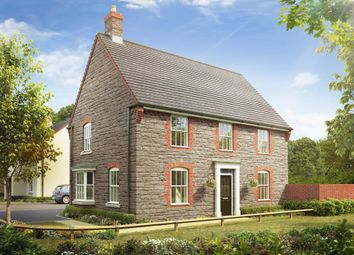 "Thumbnail 4 bed detached house for sale in ""Cornell"" at Langport Road, Somerton"