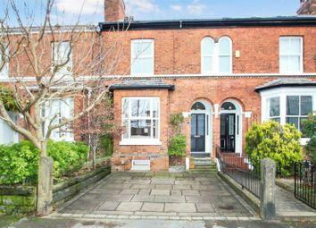 Thumbnail 4 bedroom terraced house for sale in Burlington Road, Altrincham