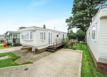 Thumbnail 2 bedroom mobile/park home for sale in Riverview Park, Station Road, Cogenhoe, Northampton