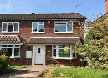 Thumbnail 3 bed semi-detached house to rent in Palmer Close, Stafford