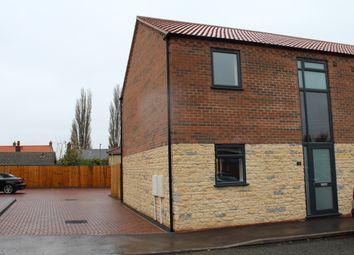 Thumbnail 3 bed town house to rent in School Lane, Washingborough