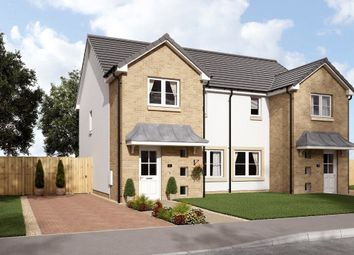 Thumbnail 3 bed semi-detached house for sale in Plots 6, 7, 8, The King's Meadow, Stirling