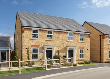 "Thumbnail 3 bedroom semi-detached house for sale in ""Ashurst"" at Guan Road, Brockworth, Gloucester"