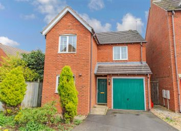 Thumbnail 3 bed detached house for sale in Erica Drive, Whitnash, Leamington Spa