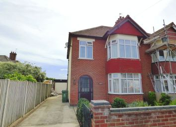 Thumbnail 3 bed semi-detached house for sale in Connaught Avenue, Gorleston, Great Yarmouth