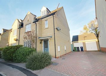 Thumbnail 4 bed semi-detached house for sale in Roman Way, Godmanchester, Huntingdon