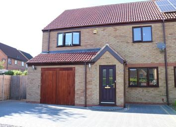 Thumbnail 3 bed semi-detached house for sale in The Causeway, Thurlby, Bourne