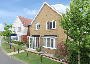 Thumbnail 4 bed detached house for sale in Kestrel Walk, Hawkinge