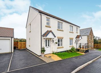 Thumbnail 3 bed semi-detached house for sale in Wheal Albert Road, Goonhavern, Truro