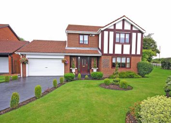 Thumbnail 4 bed detached house for sale in Orchard Close, Killingworth, Newcastle Upon Tyne