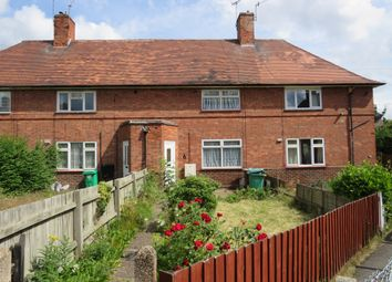 Thumbnail 2 bedroom terraced house for sale in Naworth Close, Bulwell, Nottingham