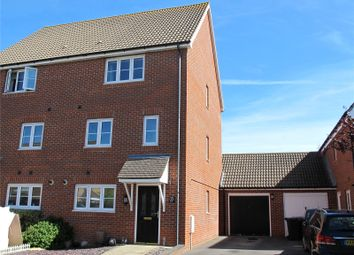 Thumbnail 4 bed semi-detached house for sale in Martinet Drive, Lee-On-The-Solent, Hampshire