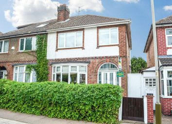 Thumbnail 3 bed semi-detached house for sale in Greenhill Road, Knighton, Leicester
