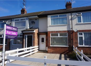 Thumbnail 2 bedroom terraced house for sale in Westlands Road, Hull