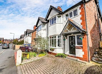 Thumbnail 4 bed semi-detached house for sale in Maple Road, Bramhall, Stockport