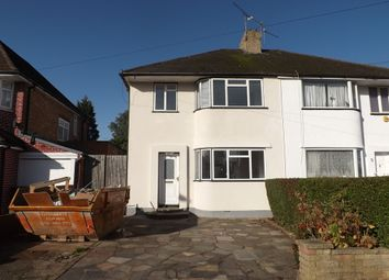 Thumbnail 3 bed semi-detached house to rent in Lynford Gardens, Edgware