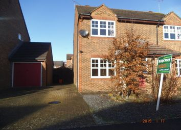Thumbnail 2 bed semi-detached house to rent in Dunsford Close, Swindon