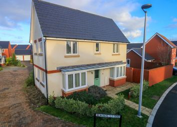 Thumbnail 3 bed detached house for sale in Lower Barton, Cranbrook, Exeter