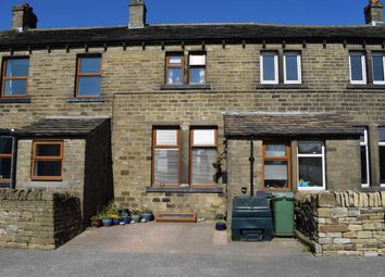 Thumbnail 3 bed terraced house for sale in Co-Op Terrace, Hepworth, Holmfirth