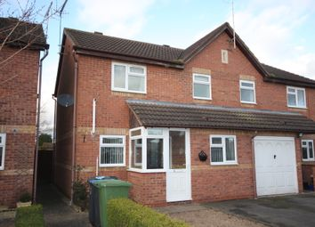 Thumbnail 3 bed semi-detached house for sale in Scott Close, Bidford On Avon