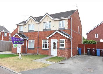 Thumbnail 3 bed semi-detached house for sale in Gorleston Way, Kirkby, Liverpool