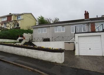 Thumbnail 2 bed semi-detached bungalow for sale in Meadow Way, Plympton, Plymouth