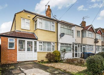 Thumbnail 3 bed semi-detached house for sale in Tadworth Avenue, New Malden