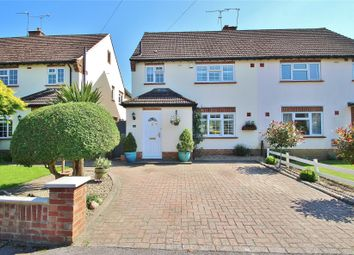 Thumbnail 3 bed semi-detached house for sale in Well Close, Horsell, Woking
