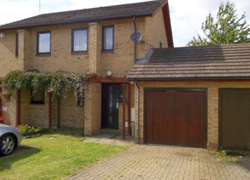 Thumbnail 2 bedroom semi-detached house to rent in Hambleton Grove, Emmerson Valley, Milton Keynes