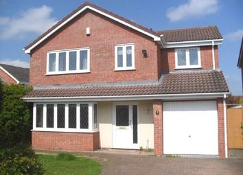 Thumbnail 4 bed detached house to rent in Cranborne Close, Belmont, Hereford