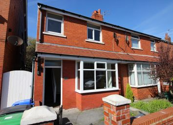 Thumbnail 3 bed terraced house to rent in Harcourt Road, Blackpool