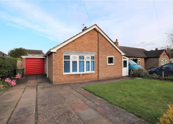 Thumbnail 2 bed detached bungalow for sale in Eastfield Close, Welton, Lincoln