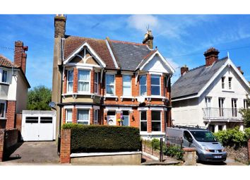 Thumbnail 5 bed semi-detached house for sale in Hollicondane Road, Ramsgate
