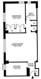 Thumbnail 1 bed property for sale in 25 Fifth Avenue, New York, New York State, United States Of America