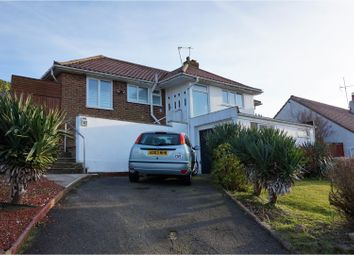 Thumbnail 2 bed detached bungalow for sale in Ashurst Avenue, Brighton