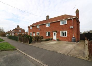 3 bed semi-detached house for sale in High Road, Wortwell, Harleston IP20