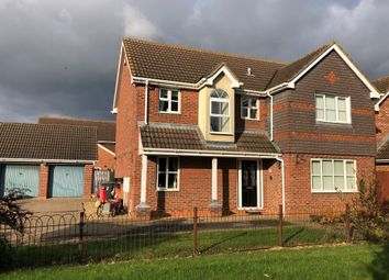 Thumbnail 4 bed detached house for sale in Bristow Road, Cranwell Village, Sleaford