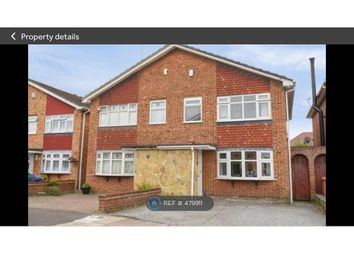 Thumbnail 3 bed semi-detached house to rent in Mark Close, Bexleyheath