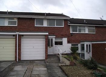 Thumbnail 3 bed town house to rent in Gleneagles Close, Pensby, Wirral