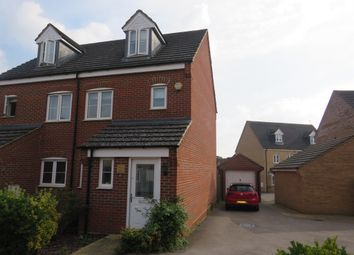 Thumbnail 3 bed town house for sale in Lockhart Avenue, Oxley Park, Milton Keynes