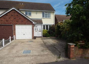 Thumbnail 3 bed semi-detached house for sale in Tendring, Clacton-On-Sea, Essex