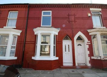 Thumbnail 3 bed terraced house to rent in Suffield Road, Kirkdale, Liverpool